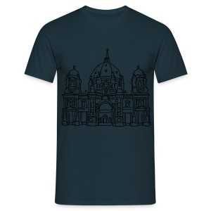 Berlin Cathedral (gold) - Men's T-Shirt