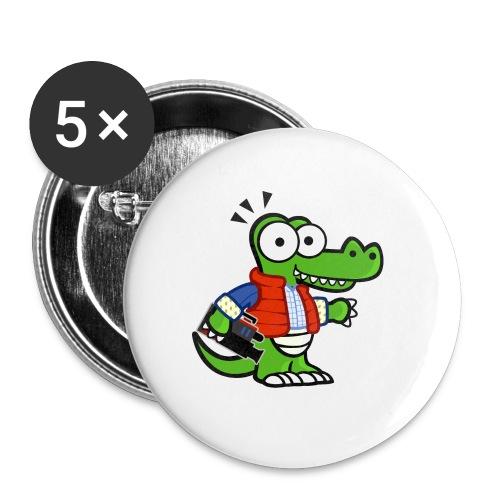 Mydealz Einkaufstüte - Buttons klein 25 mm