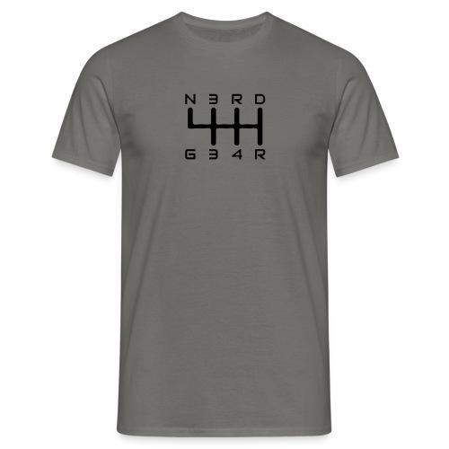 N3RD G34R - Männer Slim Fit T-Shirt - navy - Männer T-Shirt
