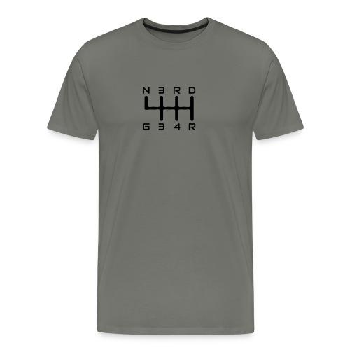 N3RD G34R - Männer Slim Fit T-Shirt - navy - Männer Premium T-Shirt