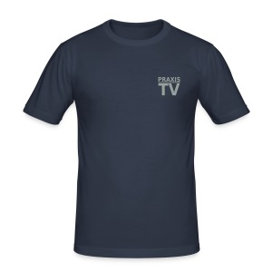 Praxis-TV Hamburg Shirt - Männer Slim Fit T-Shirt