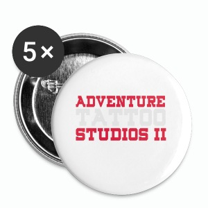 Adventure Tattoo Panoramic Mug - Buttons small 25 mm