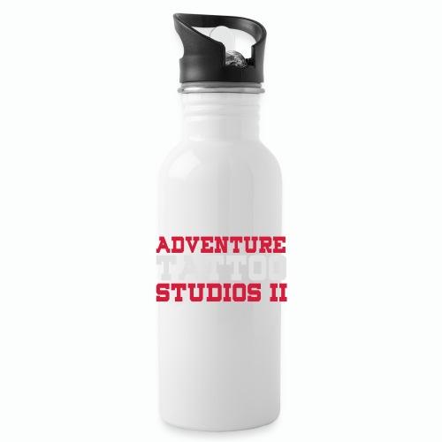 Adventure Tattoo Panoramic Mug - Water Bottle