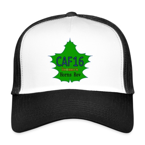Coffee16 - logo - Trucker Cap