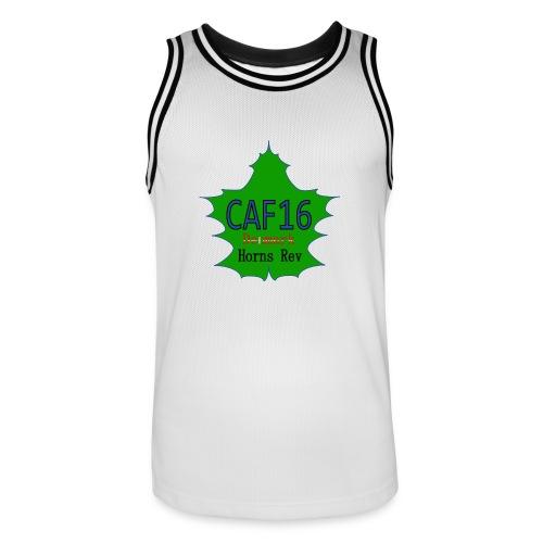 Coffee16 - logo - Herre basketball-trikot