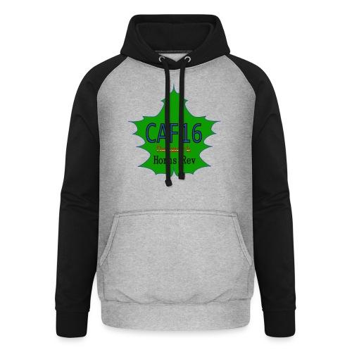Coffee16 - logo - Unisex baseball hoodie