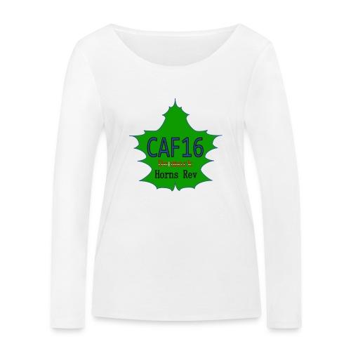 Coffee16 - logo - Økologisk Stanley & Stella langærmet T-shirt til damer