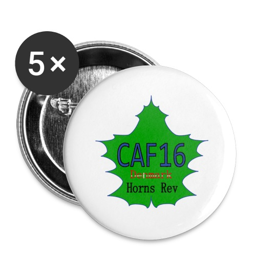 Coffee16 - logo - Buttons/Badges stor, 56 mm (5-pack)