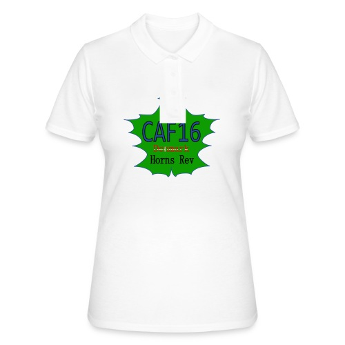 Coffee16 - logo - Women's Polo Shirt