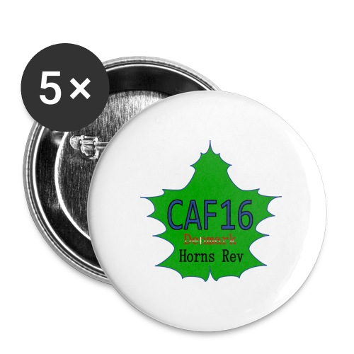 Coffee16 - logo - Buttons/Badges mellemstor, 32 mm (5-pack)