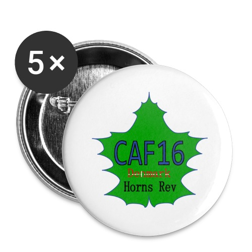 Coffee16 - logo - Buttons/Badges lille, 25 mm (5-pack)