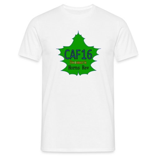 Coffee16 - logo - Herre-T-shirt