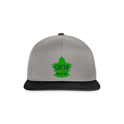 Coffee16 - logo - Snapback Cap
