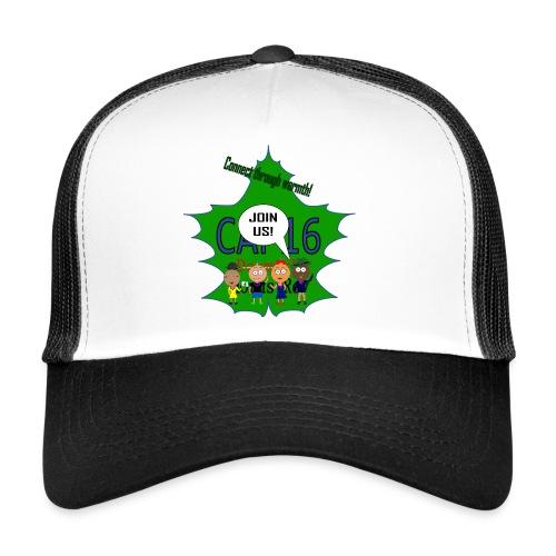 Coffee16 - logo and patrole - Trucker Cap