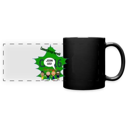 Coffee16 - logo and patrole - Panoramakrus, farvet