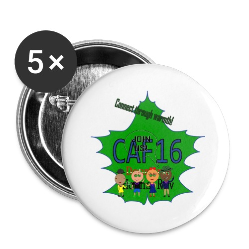 Coffee16 - logo and patrole - Buttons/Badges lille, 25 mm (5-pack)