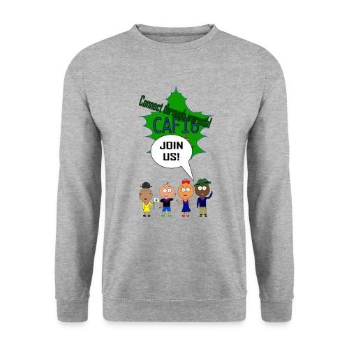 Coffee16 - logo and patrole - Herre sweater
