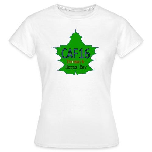 Coffee16 - logo and patrole - Dame-T-shirt