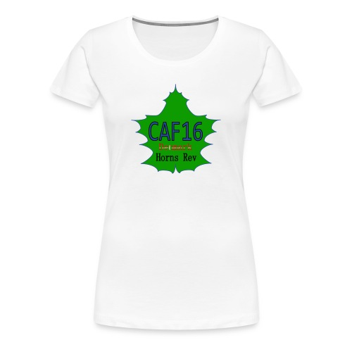 Coffee16 - logo and patrole - Dame premium T-shirt