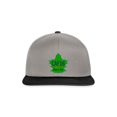 Coffee16 - logo and patrole - Snapback Cap