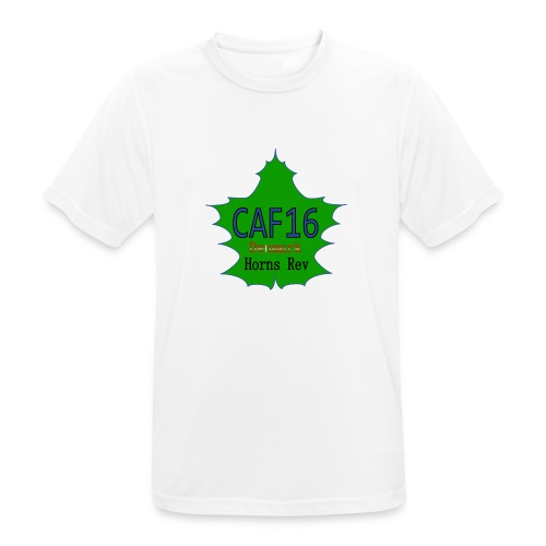 Coffee16 - logo and patrole - Herre T-shirt svedtransporterende