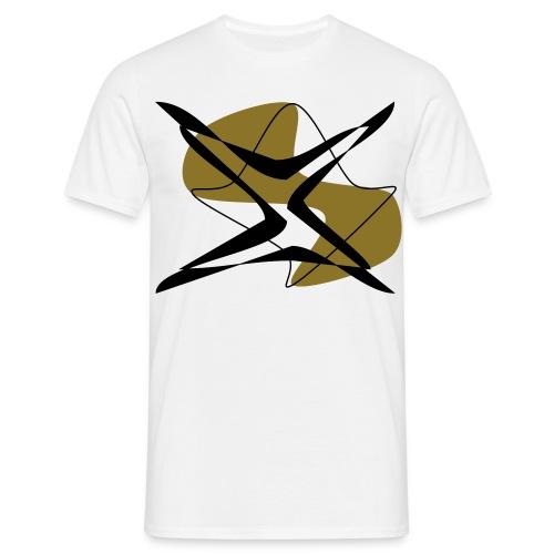 """emptylabel """"stern""""männer t-shirt - Männer T-Shirt"""
