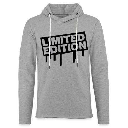 Freizeitshirt Limited Edition - Leichtes Kapuzensweatshirt Unisex