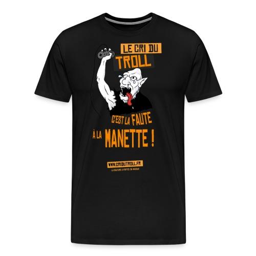Troll Gamer - T-shirt Premium Homme