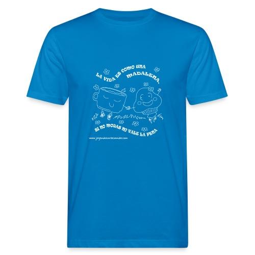 La vida es como una Madalena... - Camiseta ecológica hombre