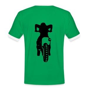 Motocross Start Flock HQ - Männer Kontrast-T-Shirt