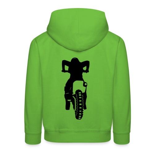 Motocross Start Flock HQ - Kinder Premium Hoodie