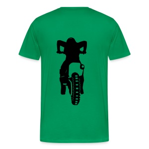 Motocross Start Flock HQ - Männer Premium T-Shirt