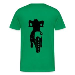 Motocross Start Flock HQ - Männer Premium T-Shirt