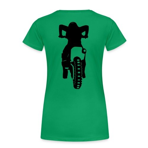 Motocross Start Flock HQ - Frauen Premium T-Shirt