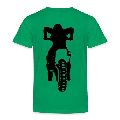 Motocross Start Flock HQ - Kinder Premium T-Shirt