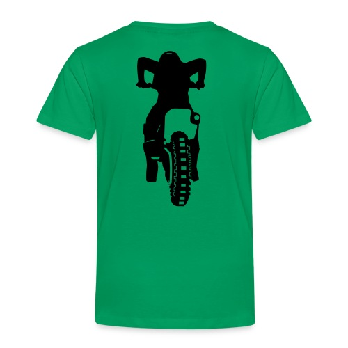Motocross Start Flock HQ - Kinder Premium T-Shirt