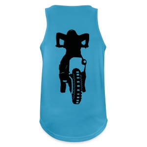 Motocross Start Flock HQ - Männer Tank Top atmungsaktiv