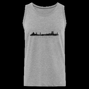München Skyline (Vintage/Schwarz) S-5XL T-Shirt - Männer Premium Tank Top