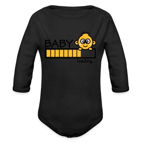 Baby ASEME - Body orgánico de manga larga para bebé