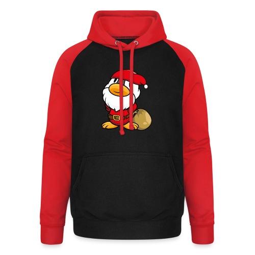 Ente Weihnachtsmann Gans Pullover - Unisex Baseball Hoodie