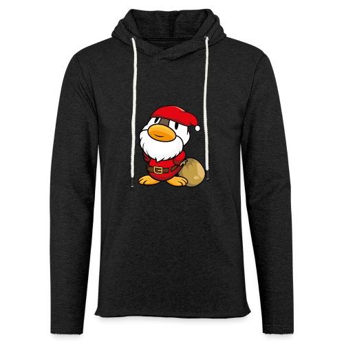 Ente Weihnachtsmann Gans Pullover - Leichtes Kapuzensweatshirt Unisex