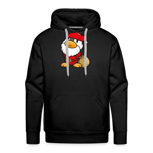 Ente Weihnachtsmann Gans Pullover - Männer Premium Hoodie