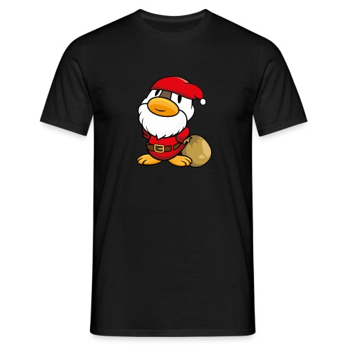 Ente Weihnachtsmann Gans Pullover - Männer T-Shirt