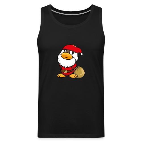 Ente Weihnachtsmann Gans Pullover - Männer Premium Tank Top