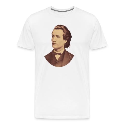 mihai eminescu - Männer Premium T-Shirt