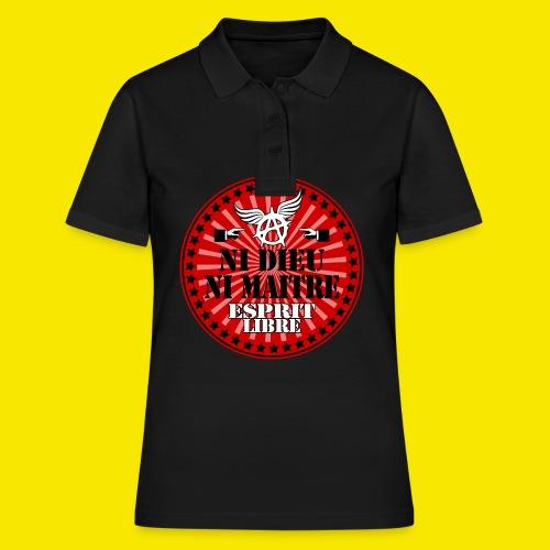 SWEATSHIRT NI DIEU NI MAITRE - Women's Polo Shirt