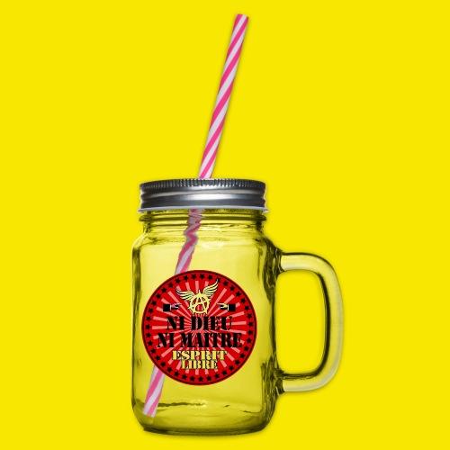 SWEATSHIRT NI DIEU NI MAITRE - Bocal à boisson