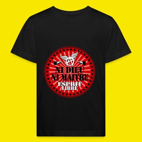SWEATSHIRT NI DIEU NI MAITRE - T-shirt bio Enfant
