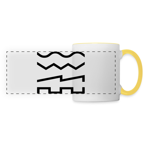 Waveforms Beanie - Panoramic Mug