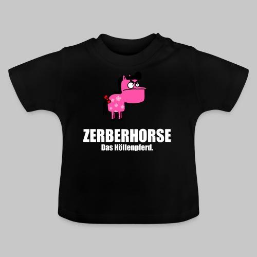 Pferdetasse schwarz - Baby T-Shirt